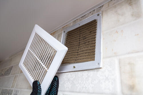 entretien sortie air ventilation
