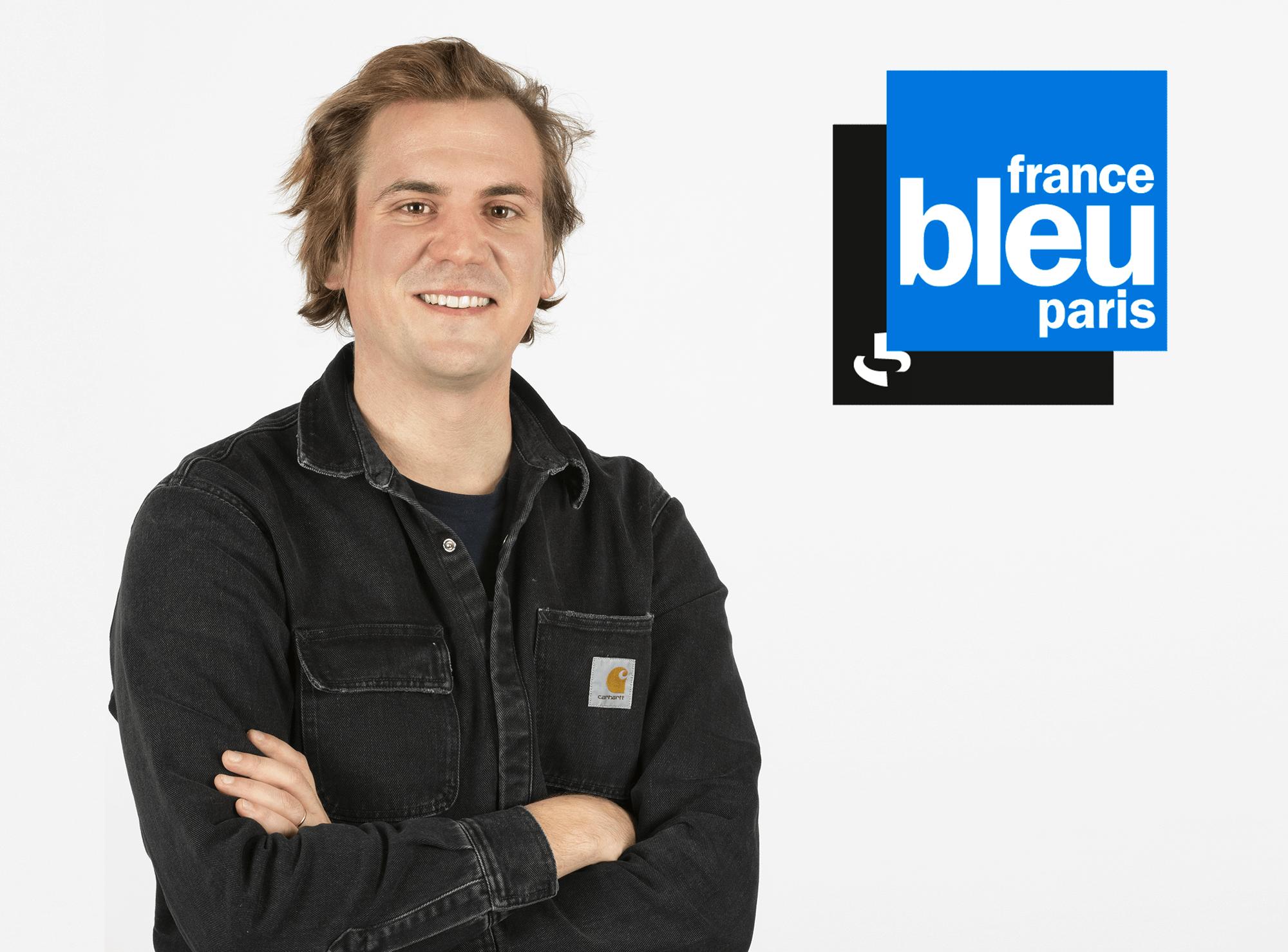 Arthur Bernagaud France Bleu Paris Hellio