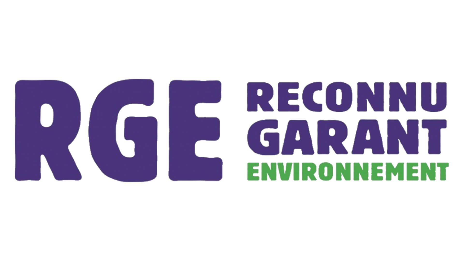 logo rge reconnu garant environnement réforme 2020