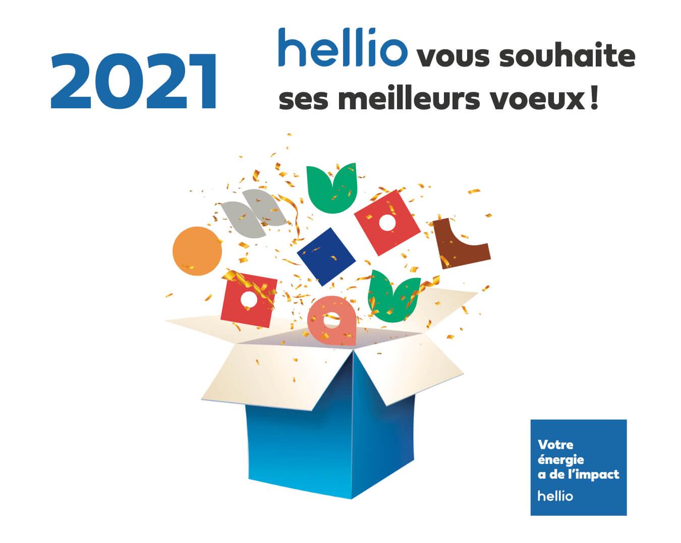 voeux Hellio 2021